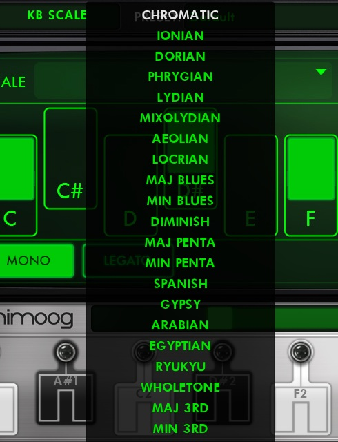 The Animoog - a synth app by Moog.