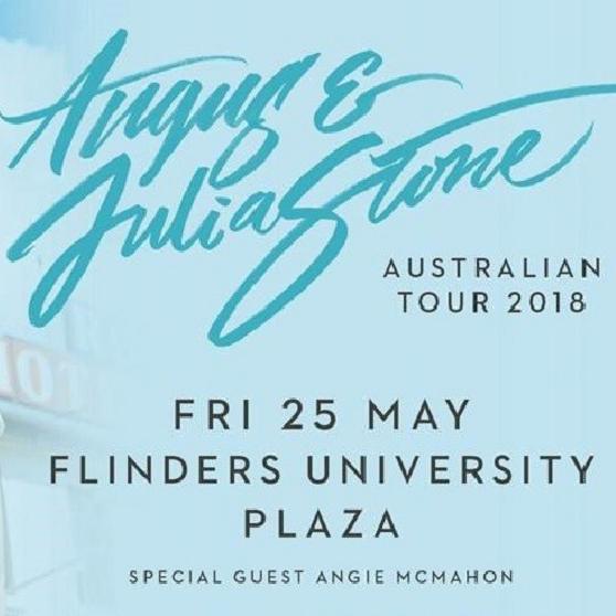 Angus & Julia Stone & Flinders Uni Plaza -