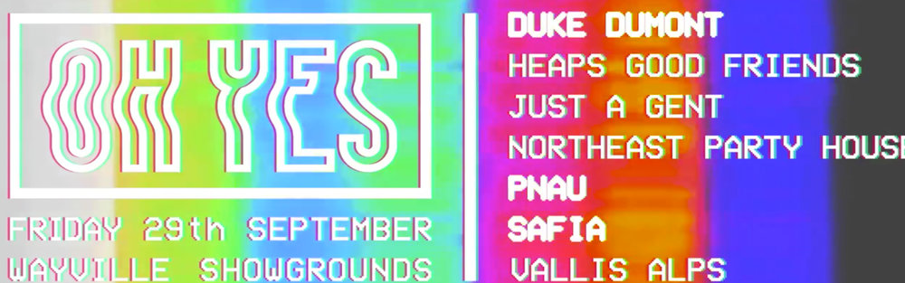 OH YES FESTIVAL -