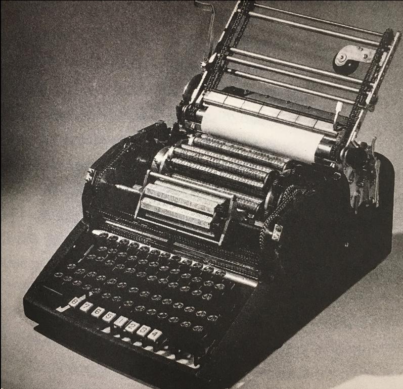 The MingKwai typewriter (see Thomas Mullaney's  The Chinese Typewriter , 244).