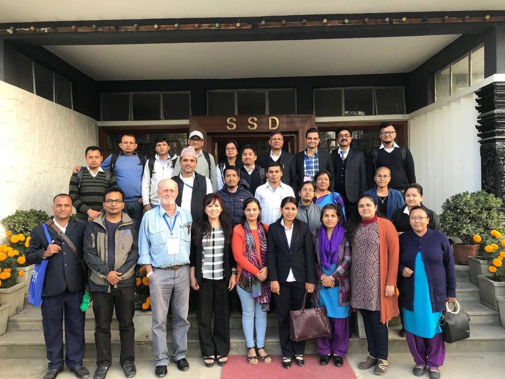 Participants in the Farm Economic Analysis training in Kathmandu