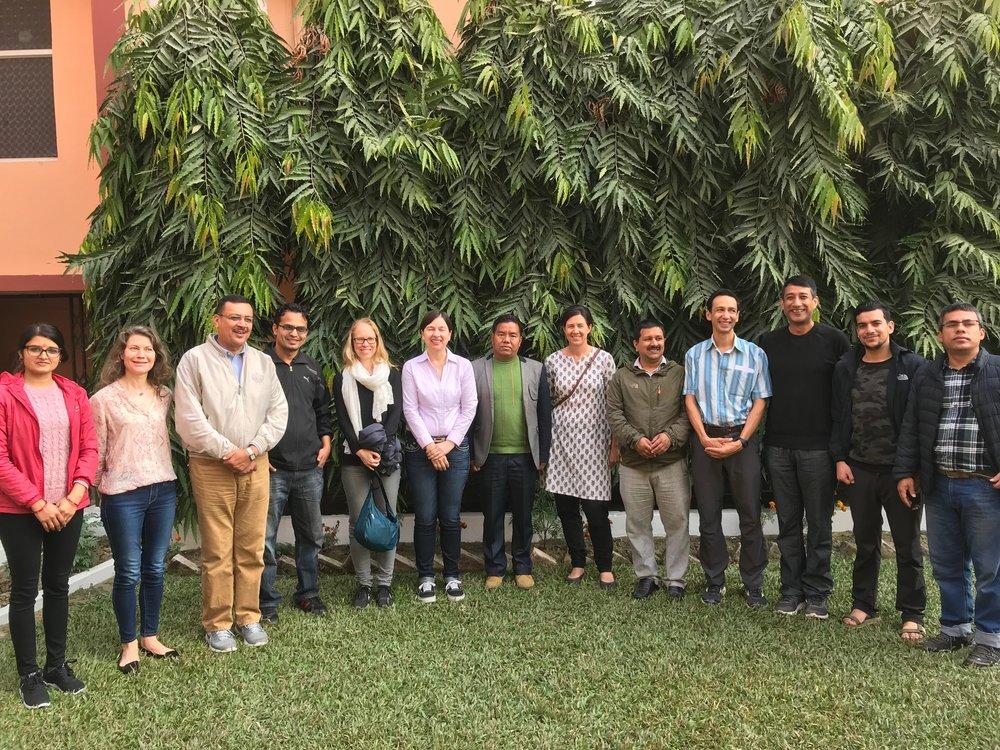 Participants in the field trip from CSIRO, ICeWARM, WECS, PEI, JVS and ACIAR.