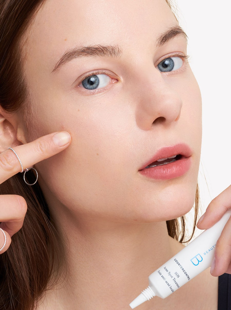 Spot treat - don't pick! - Let this treatment gel do the work for you.