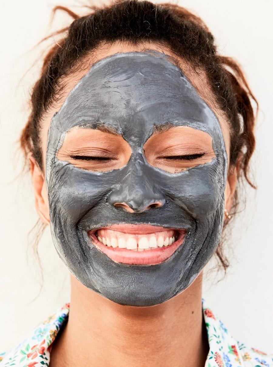 Charcoal Balancing Mask from Beautycounter   https://www.beautycounter.com/product/no-3-balancing-facial-mask