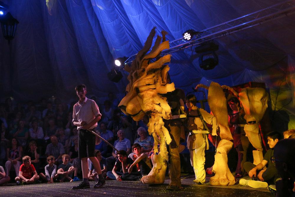 Giant Aslan Puppet