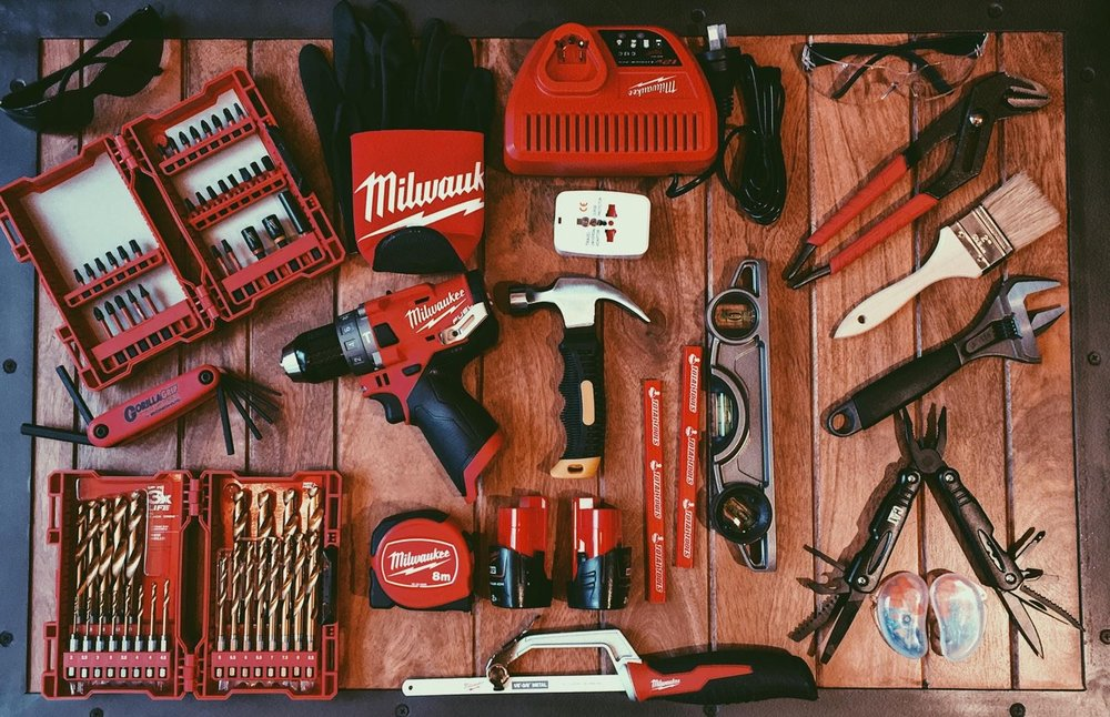 Our Tradies will be equipped with a toolkit like this