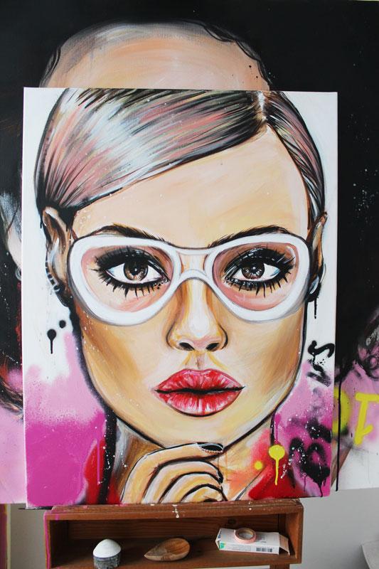 WOMEN GLAMOUR PORTRETTEN Maak nu je eigen portret!Op doek: 65€ p.p.Op papier: 50€ p.p. - Schrijf je snel in: VOL =VOL