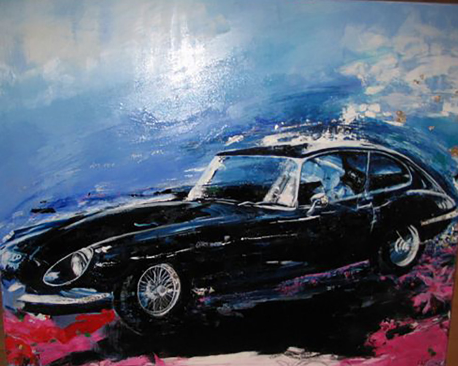 Painting of Jaguar.