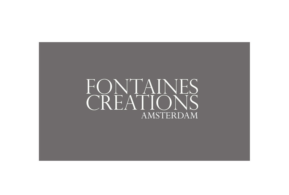 LOGO for FONTAINES CREATIONS in Amsterdam. The owner gives workshops in making your own bag.