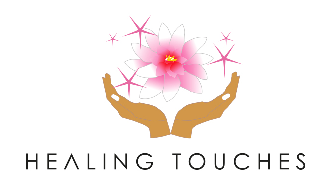 LOGO for Massage salon HEALING TOUCHES in London.