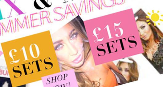 LAURENSWAY digital banners. Beauty shop in Essex London.