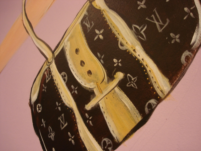 detail: LouisVuitton bag Media Company in Amserdam