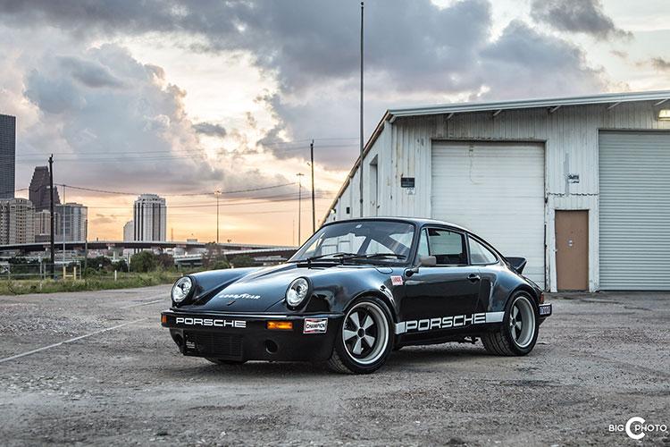 1988 Black 911 IROC Tribute