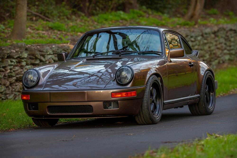 1983 Sports Purpose Copper Brown Metallic 911SC