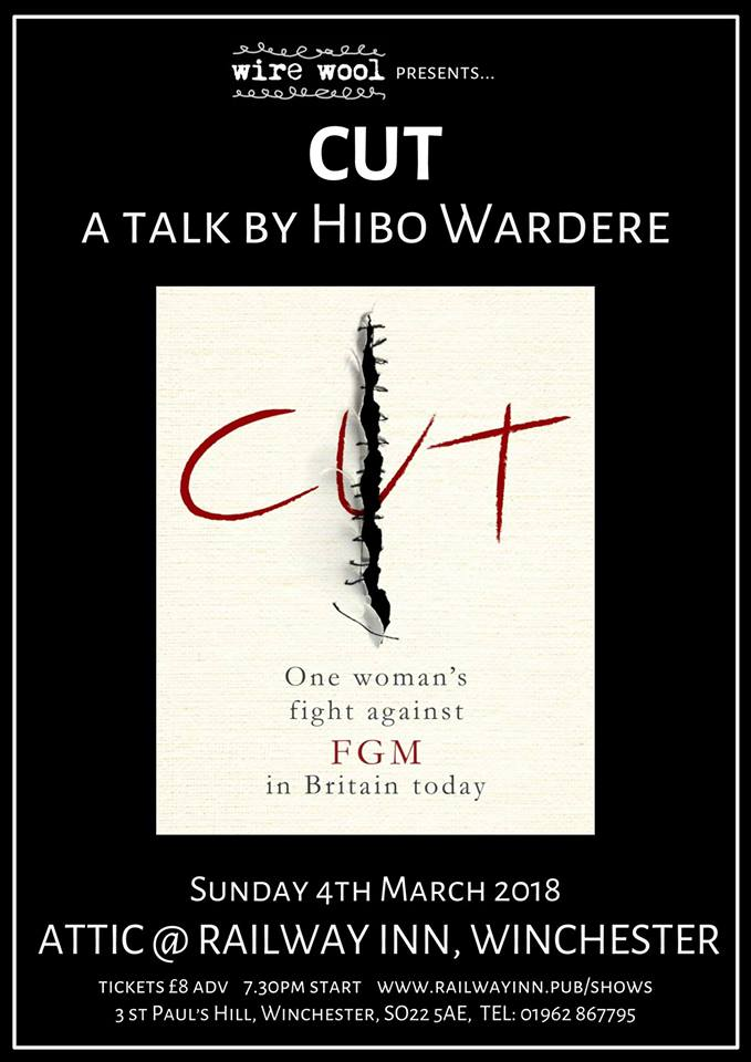 Cut: a talk by Hibo Wardere Sunday, March 4, 2018