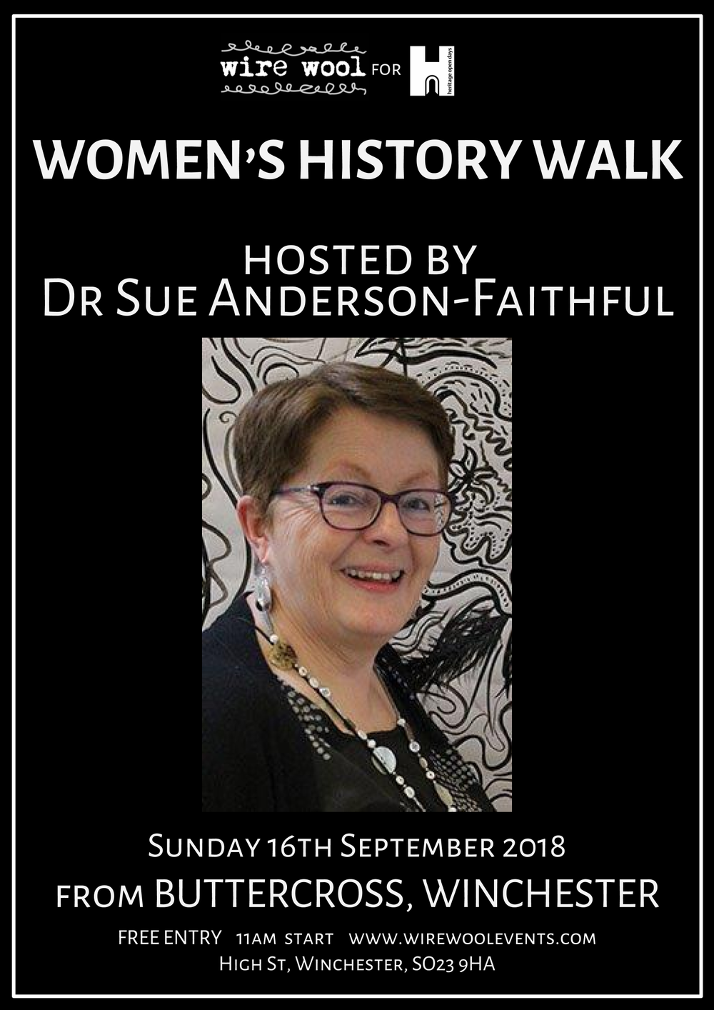 Women of Winchester: Historical Walk Sunday September 16 2018