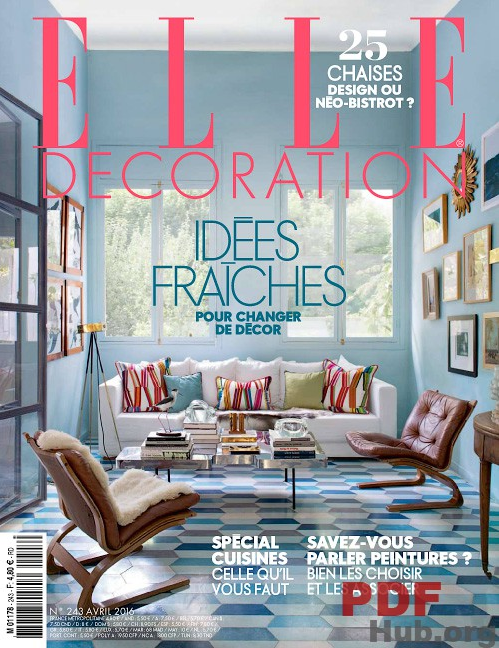 Elle Decoration France May 2016