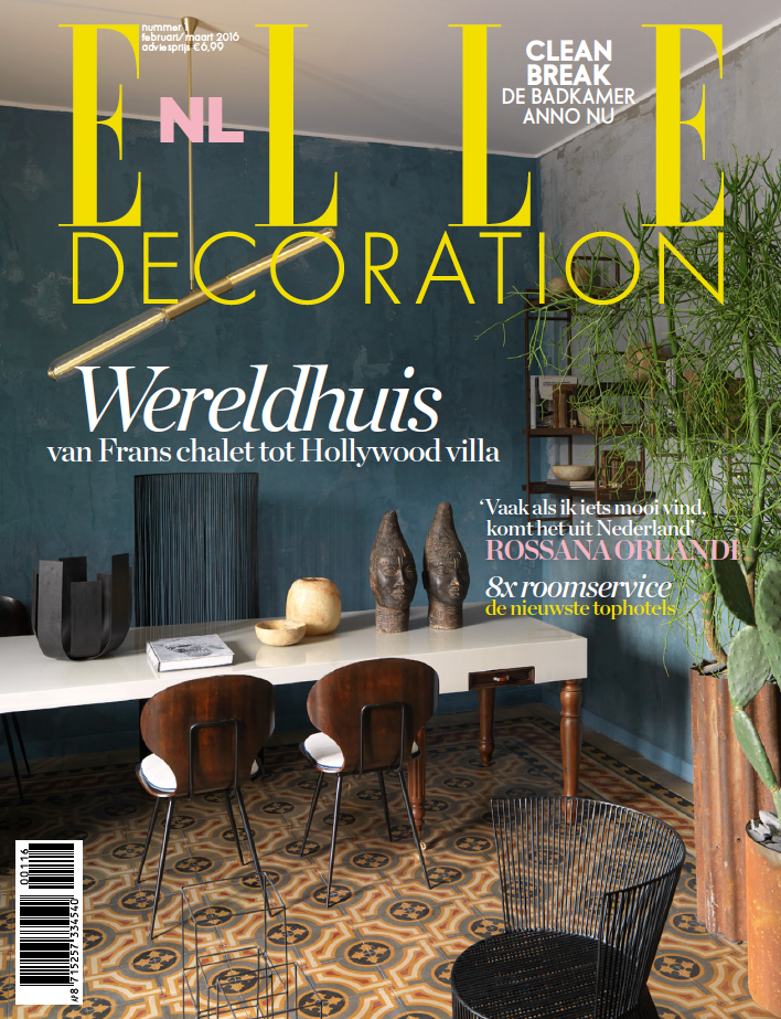 Elle Decoration Nl February-March 2016