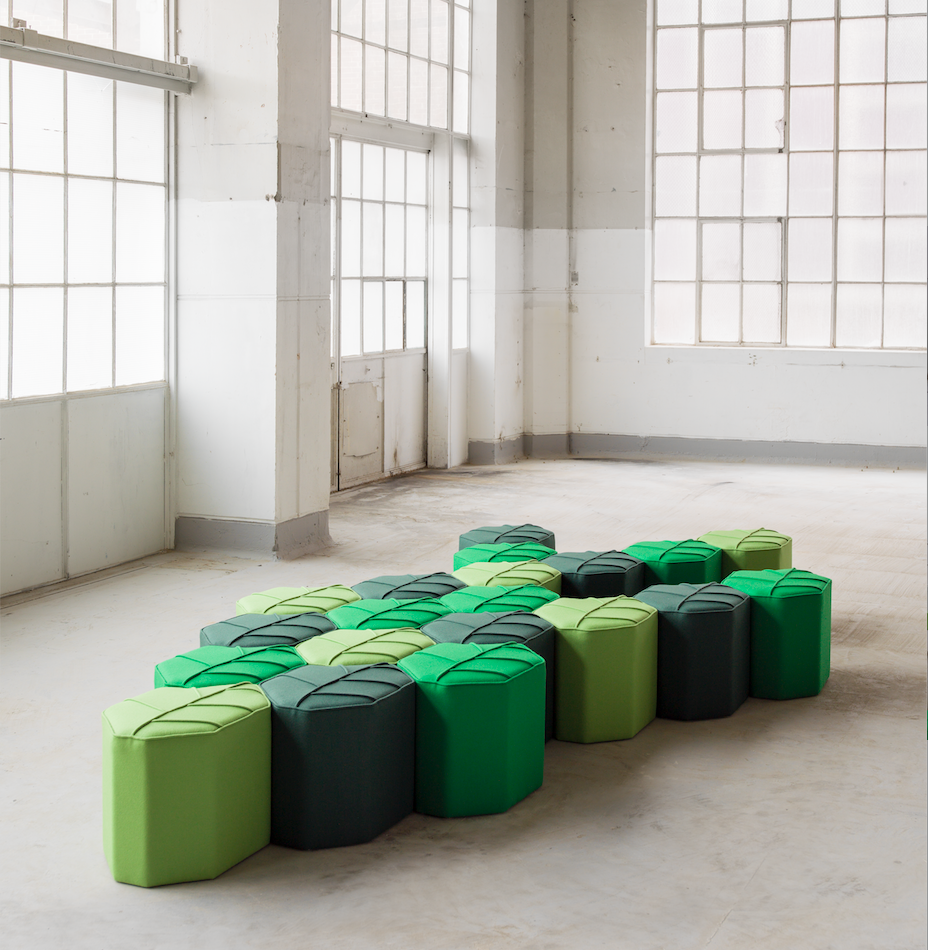 Flexible seating that stimulates communication and interaction