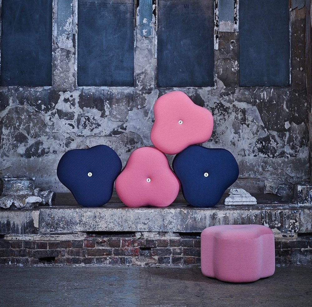 Poppy Bloom Stool flourish in any interior-home, office or hotel