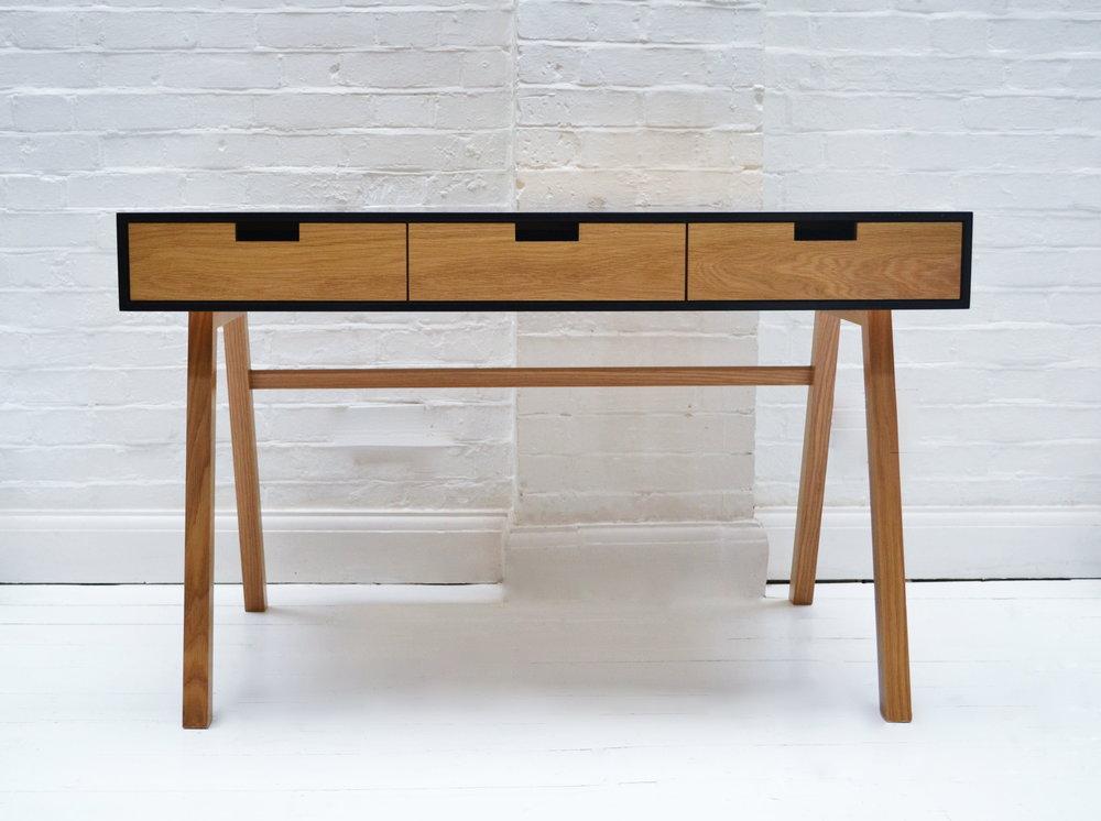 Oak Corian writing desk