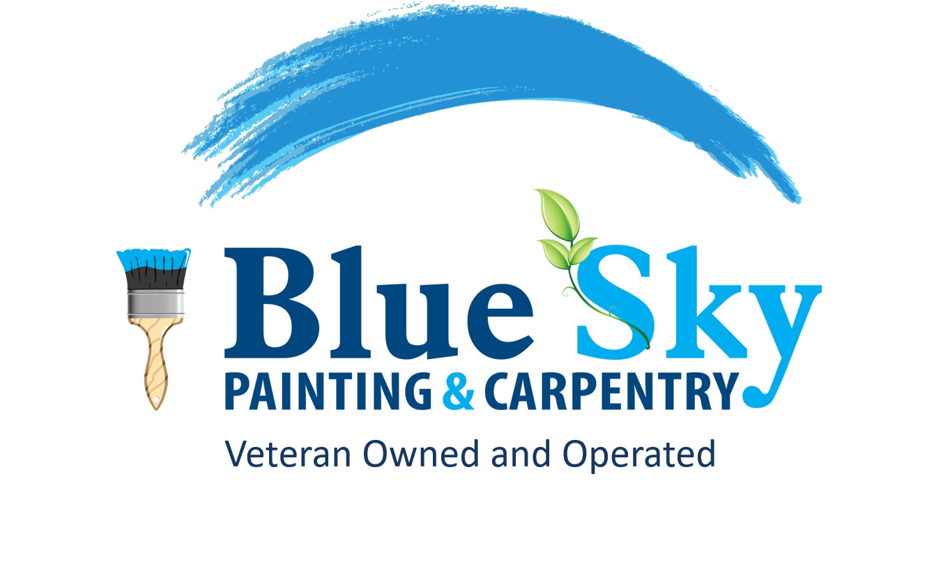 Exterior Painting Blue Sky Carpentry Star Electric Llc