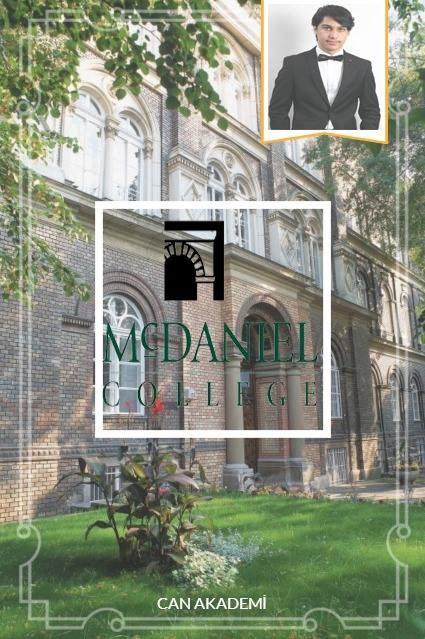 Tıp eğitimi için Macaristan'ı tercih eden başarılı öğrencimiz Kaan, ilk yıl McDaniel Kolejde tıp hazırlık eğitimi alacak. Semmelweis üniversitesini hedefleyen öğrencimize Avrupa'daki yeni yaşamında mutluluklar, başarılar diliyoruz.  Yolun açık olsun Kaan!