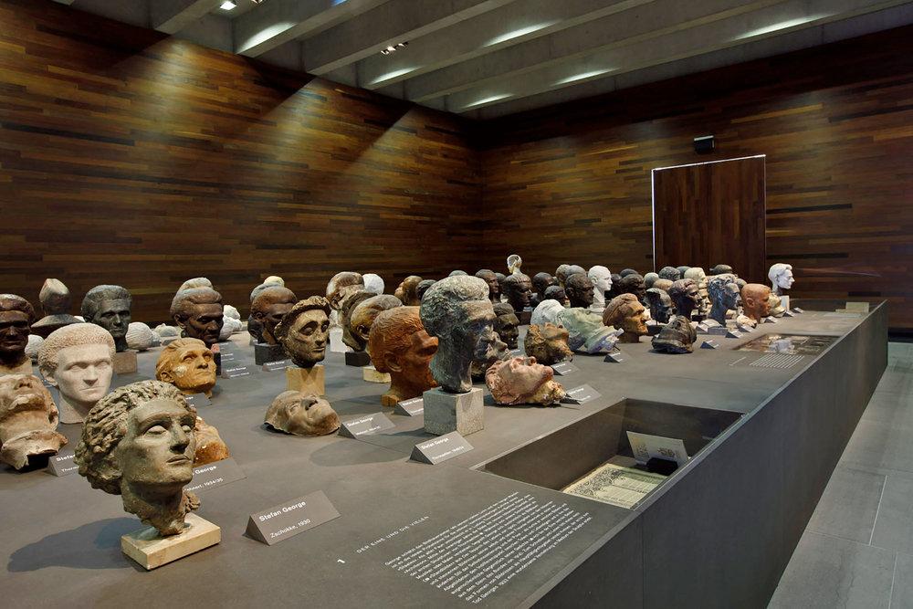 Ausstellung «Stefan George: Das geheime Deutschland», Deutsches Literaturarchiv Marbach, 2008 ©Karsten Thormaehlen