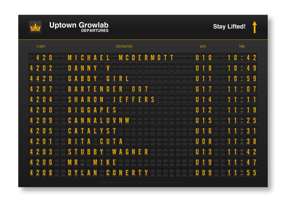 Uptown Growlab LIVE! Departure Board [at 100 x 72] CUSTOM FINAL by Brand G Creative 30 SEPT 2018.png