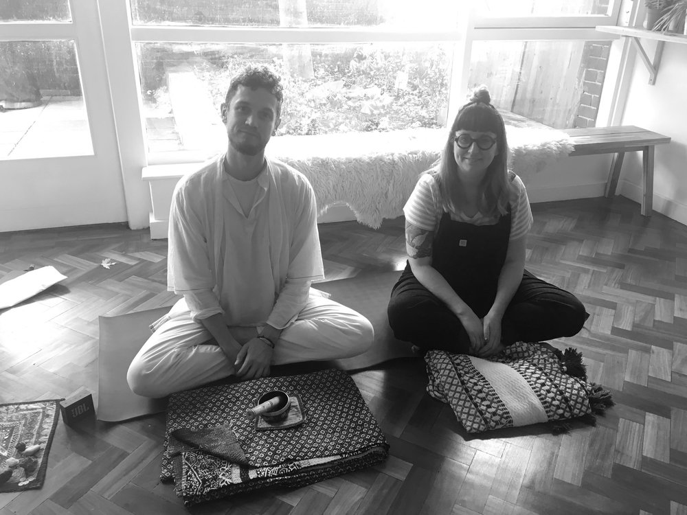 Past & Present Retreat, Sep 2018 - Hosted with Fiongal of The Wellness Foundry, we supported past life regression experienced through a guided meditation with journalling, followed by massage treatments, yin yoga & vegan treats.