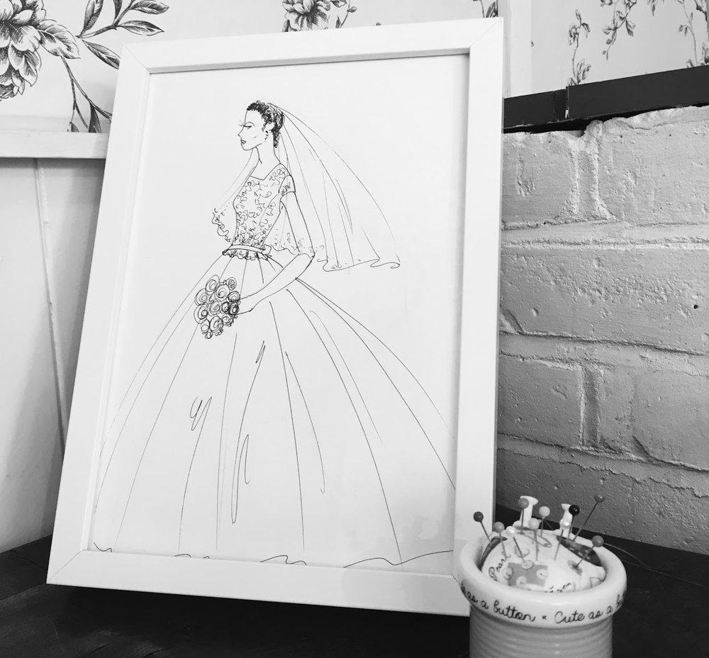 The Wedding Wokshop - wedding dress and bridal gown shop in Ampthill, Bedfordshire, near Hitchin, Woburn, Milton Keynes