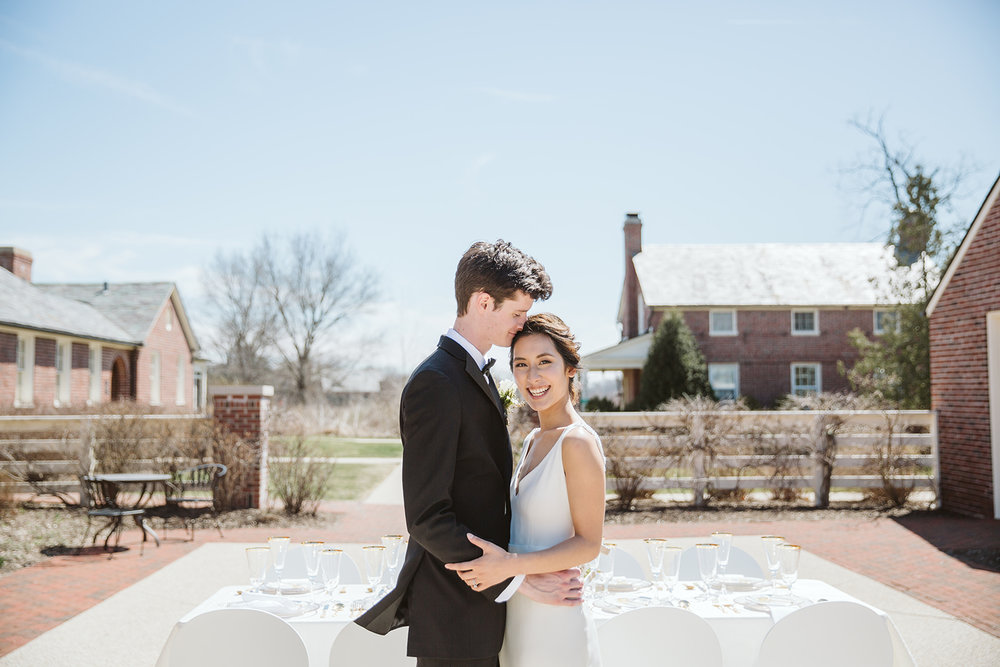 Light and Airy Classic Wedding phot