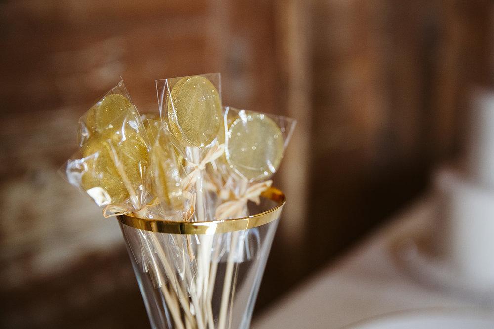 Gold Lollipops