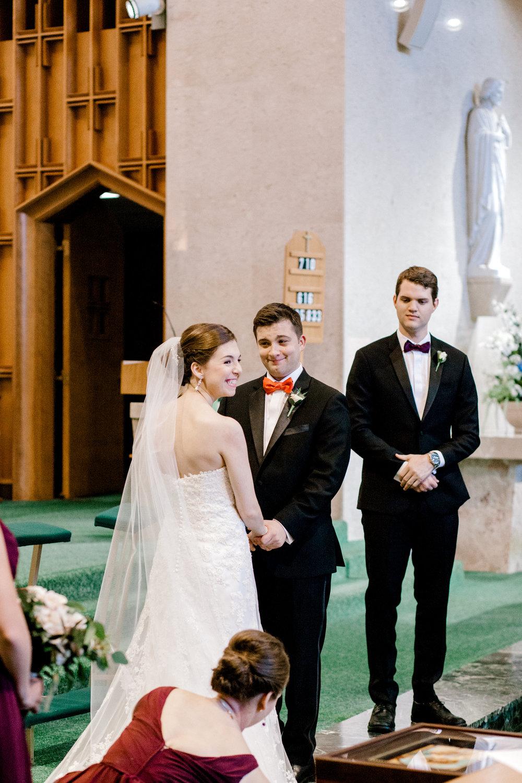 Notre Dame Wedding in Chicago Olive Park Wedding Photos
