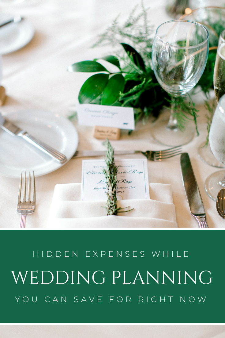 Hidden Expenses while Planning a Wedding