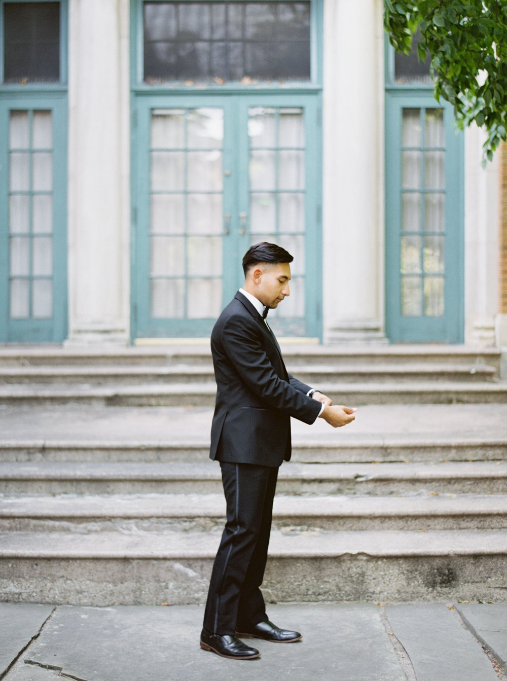 Black Tie Wedding at the Columbus Park Refectory in Chicago for Month of Coordination and Elopement planning | Your Day by MK