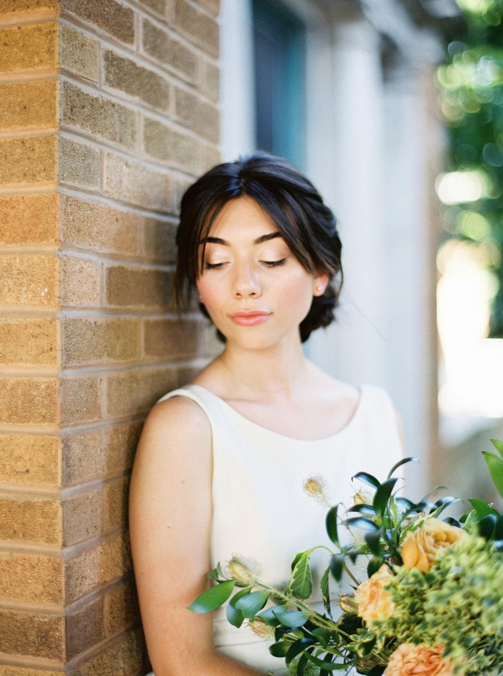 Natural wedding make up look