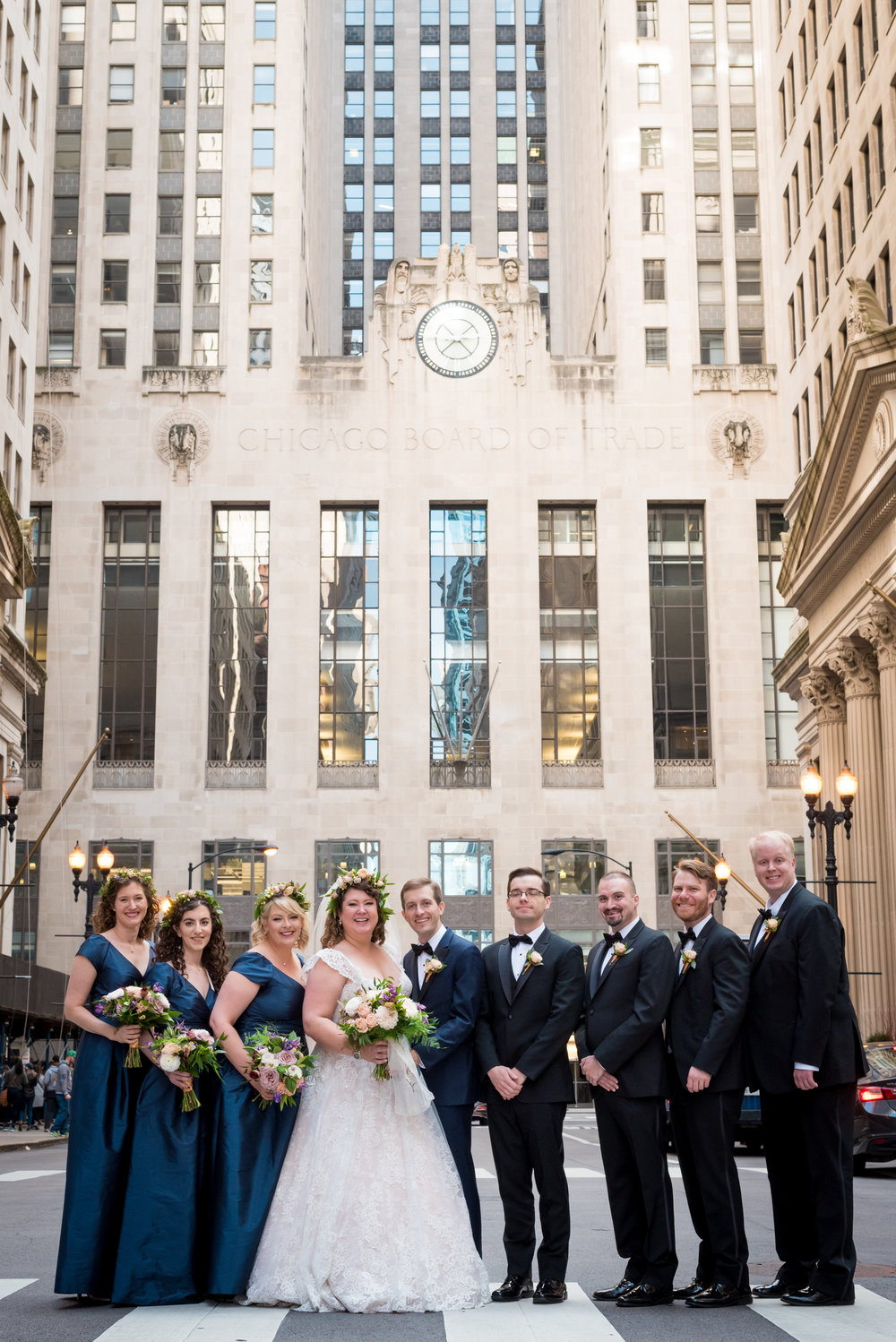 Chicago Board of Trade | Chicago Palmer House Wedding | Fall Wedding | Chicago Wedding Planner | Your Day by MK