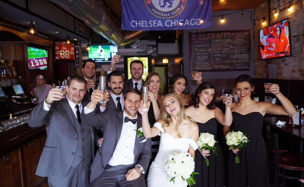 Chicago Athletic Association Wedding | Fall Wedding | Chicago Wedding Planner | Your Day by MK