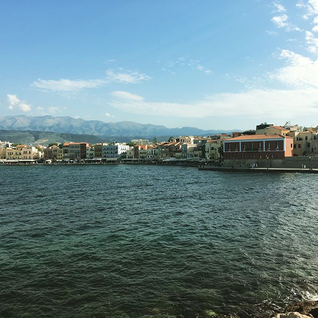 Chania!  Dang is this place nice!  #vacation #greece #crete #chania #whatabeautifulplace #butnotasbeautifulasmygirlfriend