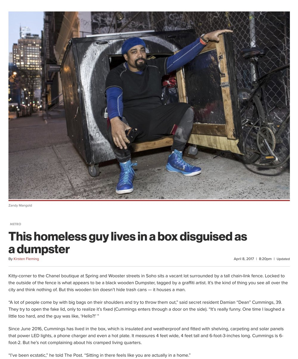 web This homeless guy lives in a box disguised as a dumpster | New York Post.jpg
