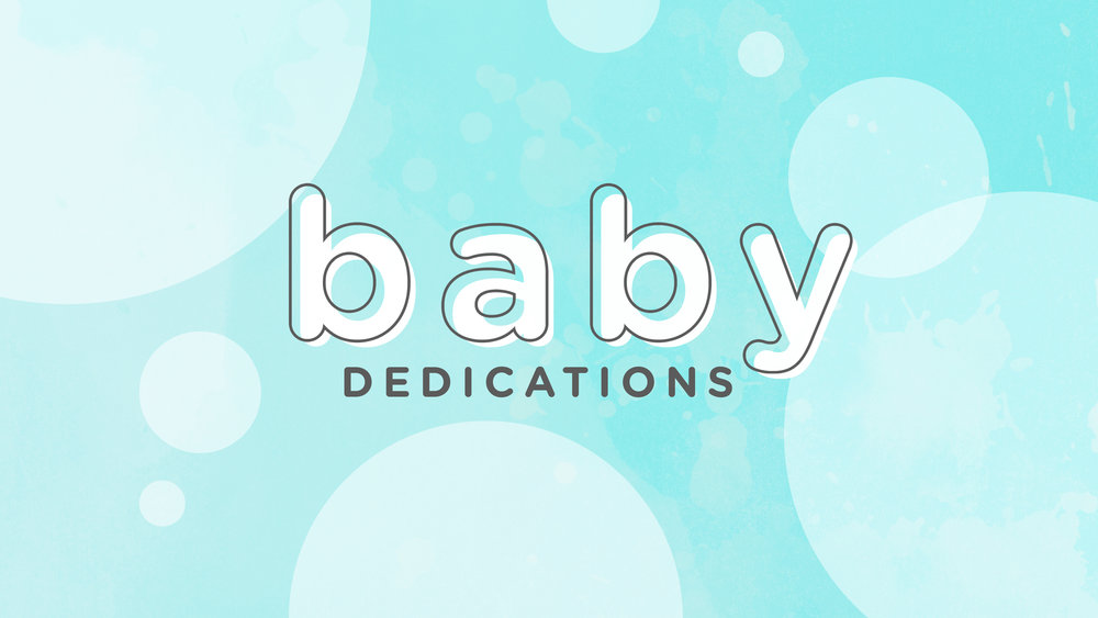 Foundations Church Baby Dedications October 7