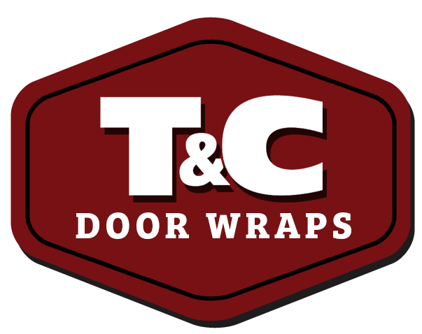 vinyl exterior door garage door wraps t c door wraps