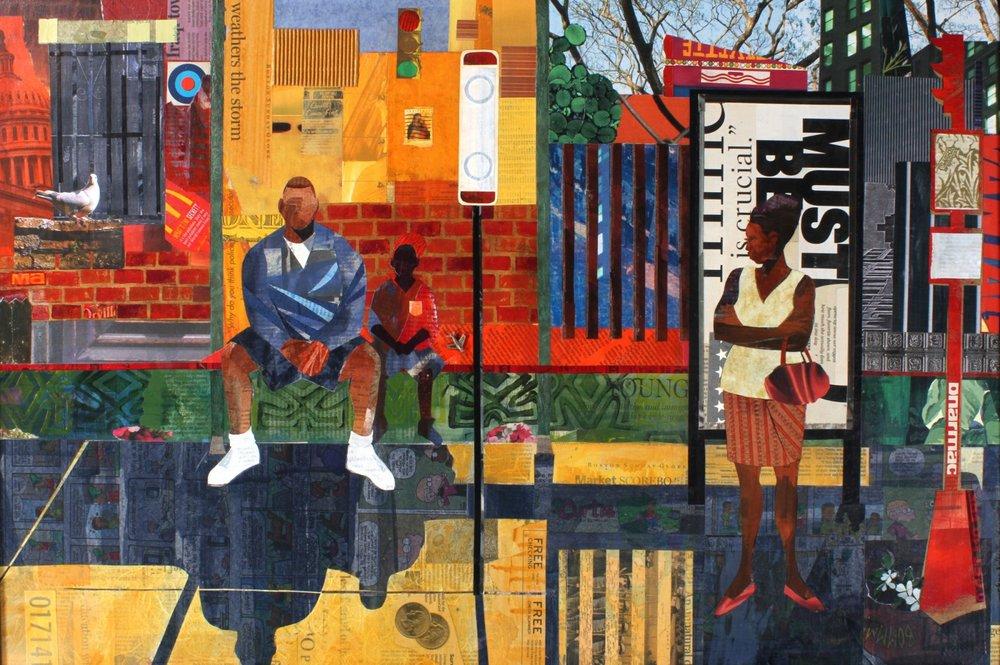 """""""Bus Stop"""" by Ekua Holmes"""