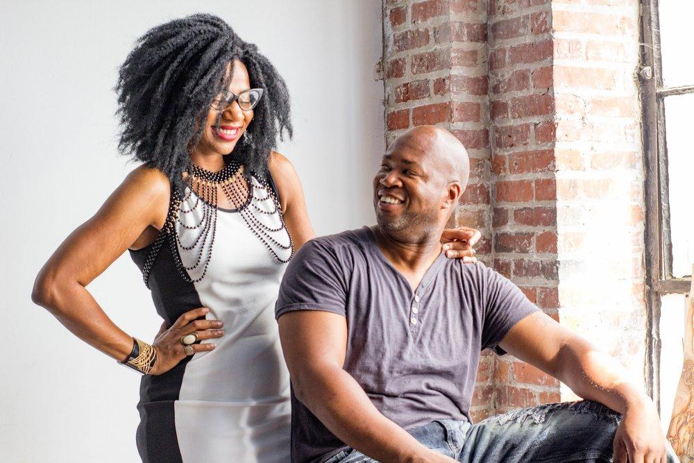 Models- Entrepreneurs Tracie Washington & Cle Mooring (Urban Freedom Black Wall St Photo shoot)