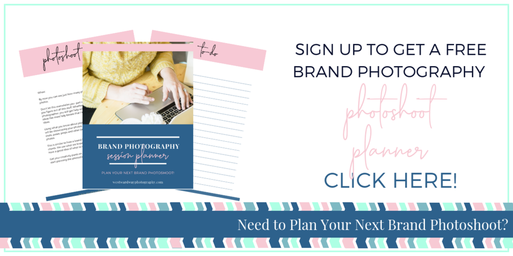 Brand Photography Photoshoot Workbook -