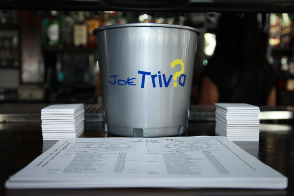 -  JoeTrivia is a successful trivia company that brings people in and keeps them there. Week after week, JoeTrivia brings in people to your venue or event by offering fun, fresh and consistent general trivia questions aimed at all ages and interests.