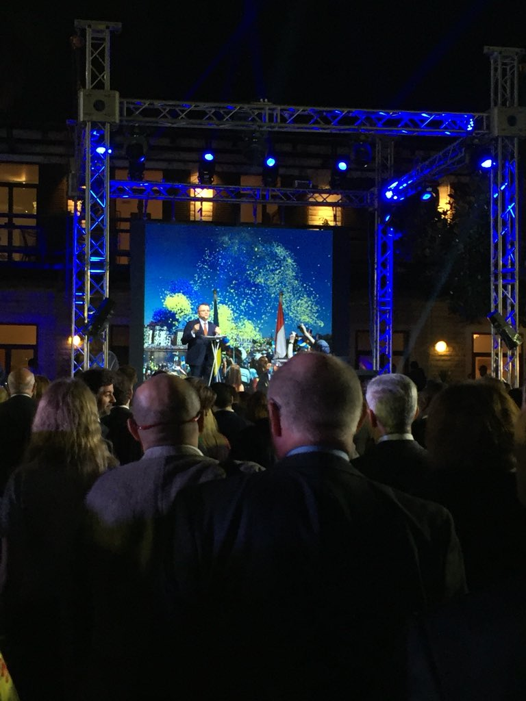 Ambassador Jan Thesleff Gives His Opening Speech - Sweden Day Event