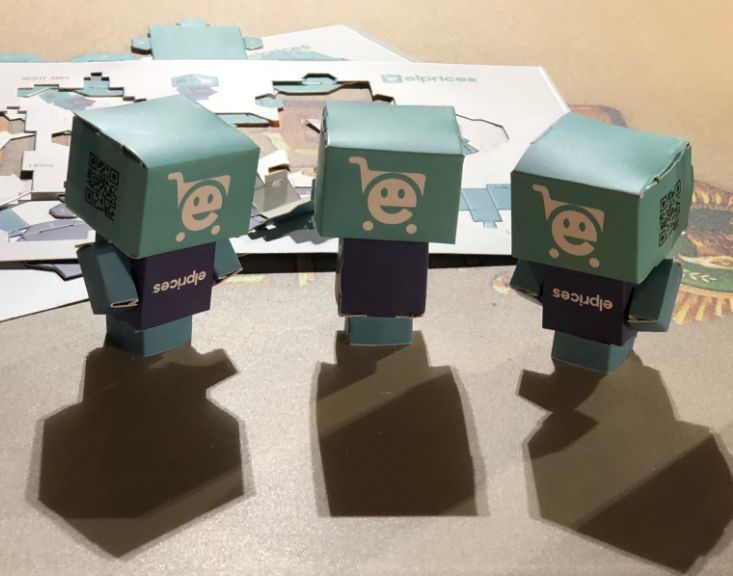 Cubeecraft Giveaways - The little guys got dressed in a rush that morning