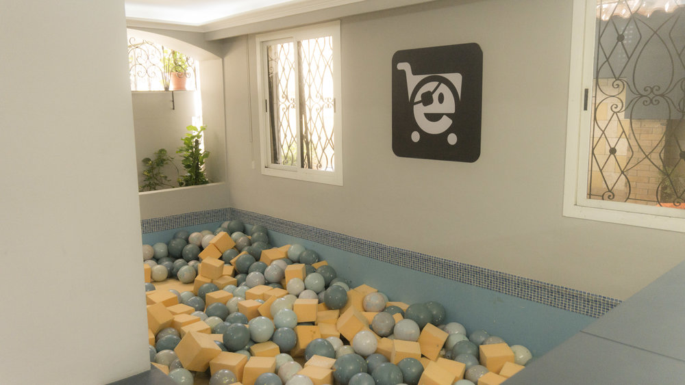 5. We have a ball pool -